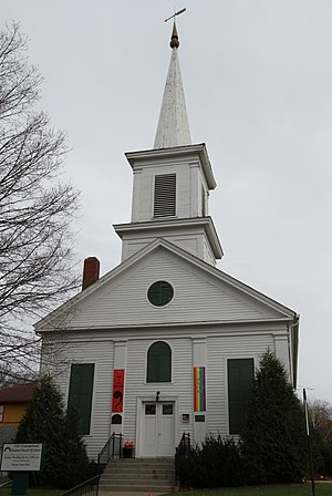 Zumbrota, Minnesota - First Congregational, listed on the National Register of Historic Places
