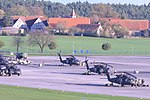 2-227th Aviation Regiment, 1st Air Cavalry Brigade helicopters arrive at Katterbach Army Airfield in Ansbach 2017.jpg