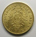 20-mark piece, Frederick I, German Emperor, 1888 MET SF09 9 10 img2.jpg