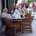 2003 reading newspaper Madeira Portugal 69716480.jpg