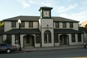"Everwood - ""downtown Everwood clinic"" in Ogden, Utah."