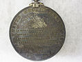 2005-86-7 Medal, Jeannette Arctic Expedition, Reverse (4866530278).jpg