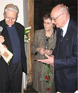 20070213 Adam Boniecki and Zofia and Wladyslaw Bartoszewski