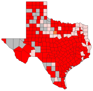 Texas Republican primary, 2008 - Image: 2008TXgopprimary
