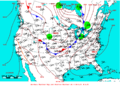 2009-07-11 Surface Weather Map NOAA.png