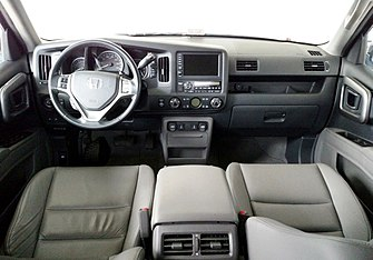Forward Cabin Of Navigation Equipped Us Rtl Ex L And Touring Trim Ridgelines
