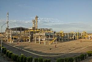 Talara - Image: 2009. Planta de gas de Pariñas