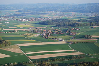 Iffwil - Aerial view of Iffwil