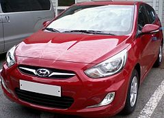 2010 Hyundai Accent RB hatchback
