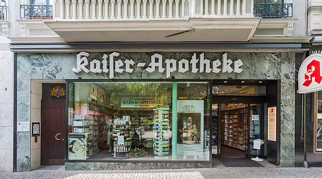 datei 2013 08 27 kaiser apotheke kaiserplatz 4 bonn img wikipedia. Black Bedroom Furniture Sets. Home Design Ideas