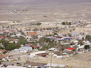 Tonopah, Nevada Unincorporated town in Nevada, United States