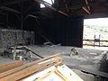 2014-07-28 13 28 01 Interior of the mill building in Berlin, Nevada at Berlin-Ichthyosaur State Park.JPG