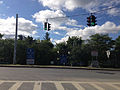2014-08-28 09 49 45 Intersection of the ramp from Interstate 90 Exit 7 and Washington Avenue in Rensselaer, New York.JPG