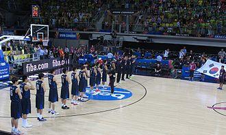 South Korea national basketball team - South Korea at the 2014 FIBA World Cup.