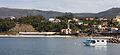 2014 Vista de Porto do Son. Barco igrexa e cemiterio de San Vicente de Noal. Porto do Son. Galiza-P09.jpg