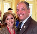 2015-03-08 Chef Evening Donna Hutto Edwards & John Bel Edwards 1 cr en.jpg