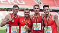20150726 1803 DM Leichtathletik Männer 4x400m 1802.jpg