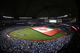 Rogers Center in 2015 tijdens ALCS Game 3