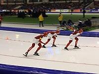 2015 World Single Distance Speed Skating Championships, mens team pursuit (4b).JPG