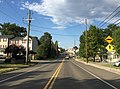 2016-07-19 18 25 57 View north along U.S. Route 11 (Main Street) between Brook Creek Road and Toms Brook Drive in Toms Brook, Shenandoah County, Virginia.jpg