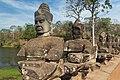 2016 Angkor, Angkor Thom, Brama południowa (15).jpg