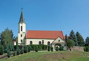 Niedźwiednik, Lower Silesian Voivodeship - Image: 2016 Kościół św. Jana Ewangelisty w Niedźwiedniku 2