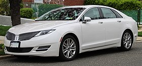 2016 Lincoln MKZ 2.0L AWD front 4.22.19.jpg