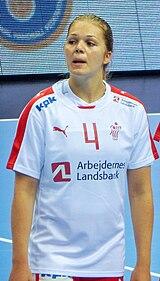2016 Women's Junior World Handball Championship - Group A - MNE vs DEN - Amalie Grøn Hansen.jpg