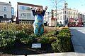 2016 Woolwich, General Gorden Square, Berlin Bear 1.jpg