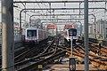 20170818上海地铁6号线两种列车在巨峰路站.jpg