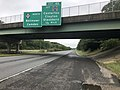 2018-09-10 10 58 23 View north along New Jersey State Route 55 (Cape May Expressway) just south of Exit 45 (Gloucester County Route 553, Centerton, Clayton, Glassboro) in Elk Township, Gloucester County, New Jersey.jpg