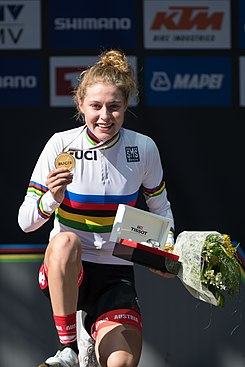 20180927 UCI Road World Championships Innsbruck Women Juniors Road Race Laura Stigger 850 0408.jpg
