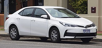 Automotive industry in Pakistan - Toyota Indus's Corolla is the most manufactured car in Pakistan. In 2017, 52,874 models were made.