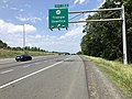 2019-05-29 13 55 31 View north along Interstate 95 at Exit 150 (Virginia State Route 619, Triangle, Quantico) on the edge of Marine Corps Base Quantico in Prince William County, Virginia.jpg