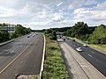 2019-07-24 17 04 58 View west along Interstate 695 (Baltimore Beltway) from the overpass for Putty Hill Avenue on the edge of Parkville and Overlea in Baltimore County, Maryland.jpg