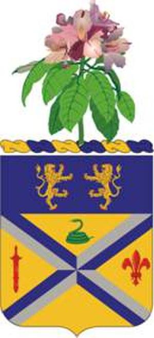 201st Field Artillery Regiment - Coat of arms