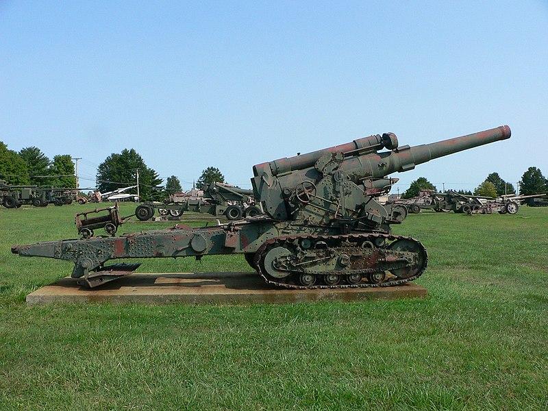 B-4 et B-4M ( Russie ) 800px-203_mm_howitzer_M1931_%28B-4%29_2