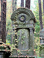 251012 Detail of tombstones at Jewish Cemetery in Warsaw - 64.jpg