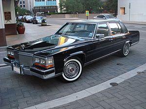 Cadillac Brougham - 1988 Cadillac Brougham