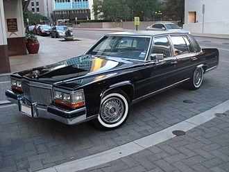 Brougham (car body) - 1988 Cadillac Brougham