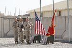 2nd Combat Engineer Battalion honors fallen Marines during memorial ceremony in Afghanistan 140708-M-KC435-002.jpg