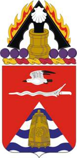 31st Field Artillery Regiment - Coat of arms