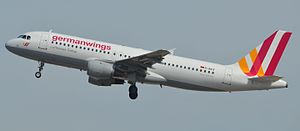 Germanwings - D-AIPX, the plane that crashed as Flight 9525 in March 2015