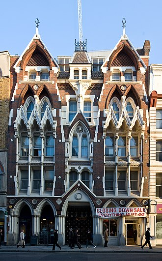1868 in architecture - Image: 33 35 Eastcheap, London, United Kingdom Oct 2007
