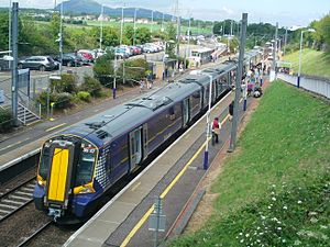 Abellio ScotRail - A Class 380 at Musselburgh