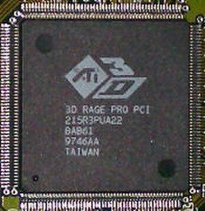 ATI Rage - RAGE Pro chip