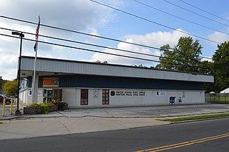 Newton Falls, Ohio - The village post office, bearing the unusual ZIP code 44444