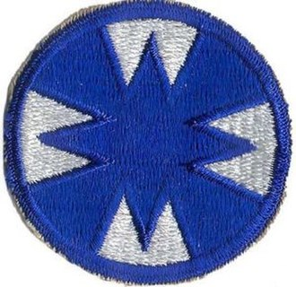 First United States Army Group - Image: 48th Infantry Division patch, Ghost Division, WWII Era