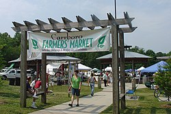 The Carrboro Farmer's Market