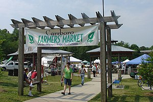 Carrboro, North Carolina - The Carrboro Farmers' Market